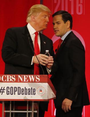 Den bitreste debatten s� langt blant republikanerne. Men en ting var de enige om