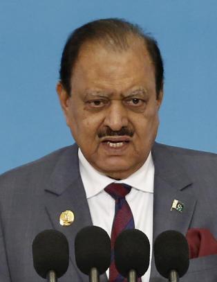 Pakistans president ford�mmer valentinsdagen