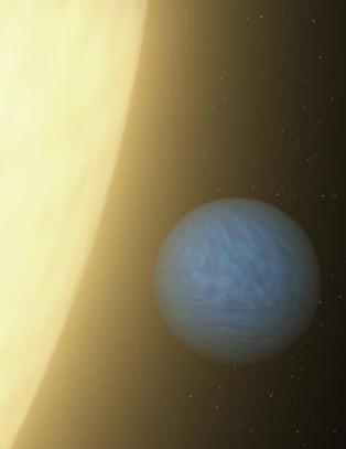 Har oppdaget en superjord med atmosf�re 40 lys�r unna