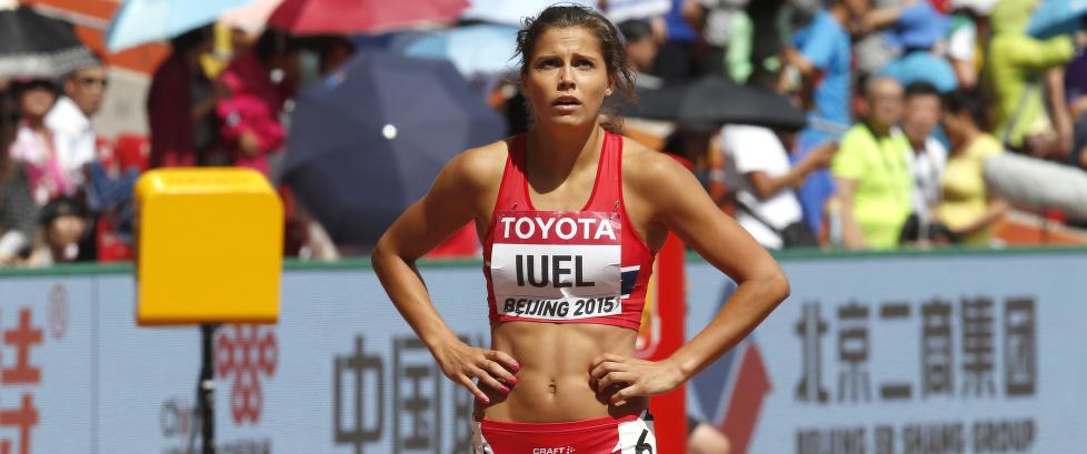 Skolen nekter Amalie Iuel (21) å delta på innendørs-VM