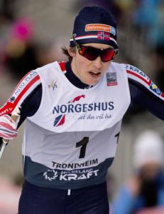 Riiber var p� vei mot norsk seier, men gikk feil p� oppl�pet