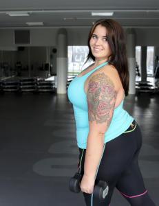 Overvektige finner ikke store nok treningskl�r