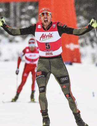 Rydzek s�rget for at Watabe fikk sin �ttende (!) andreplass denne sesongen