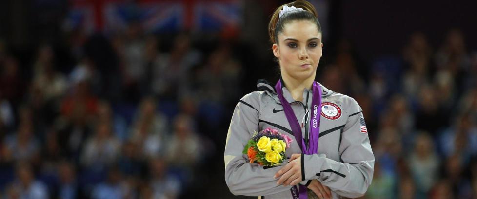 OL-vinner ble en internettsensasjon etter dette bildet. I g�r kom hun med den overraskende nyheten