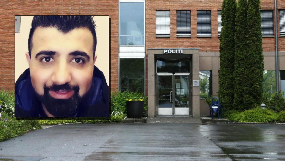 R�DVILL: Samad Rah (28) stiller seg uforst�ende til hvorfor han er innkalt til � avgi DNA-pr�ve p� politihuset i Lillestr�m. Foto: Terje Pedersen / NTB Scanpix, privat