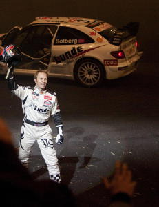 �rets rallycross-sesong blir t�ff for Petter Solberg