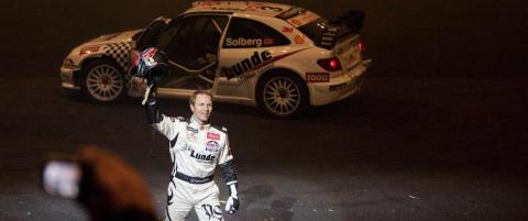 Årets rallycross-sesong blir tøff for Petter Solberg