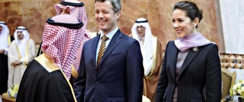 Sjeikene nektet � hilse p� kronprinsesse Mary: - Ikke uvanlig