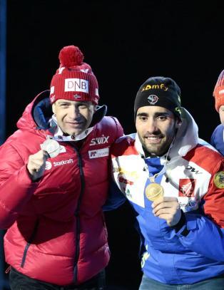 Bj�rndalen og Svendsen ut mot Fourcade: - Dumt � si noe s�nt, sier Ole Einar