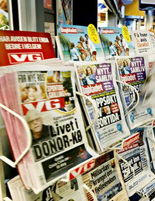 Digital abonnementsvekst for mediehusene. Opplaget synker