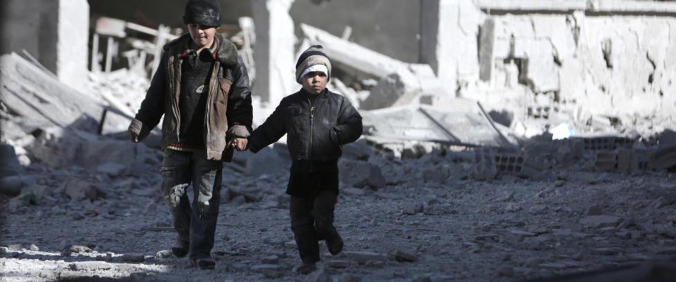 En kvart million syriske barn lever i �d�dsleire�