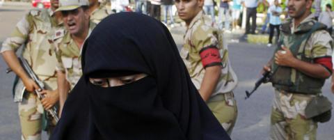 Egypt vil forby burka og nikab: - Gj�r heller nakenhet forbudt