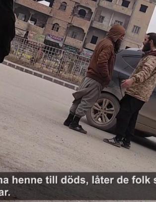 Kvinnenes forbudte opptak fra innsiden av IS' lukkede by