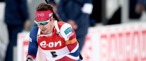 Emil Hegle Svendsen avslutter sesongen