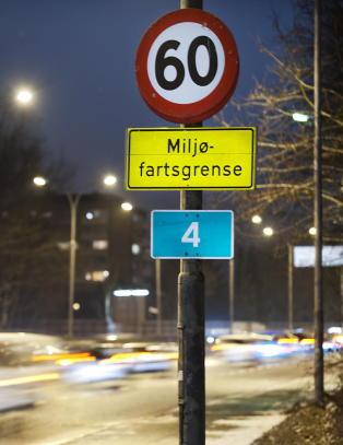 Fartsgrensene i Oslo skrus ned p� vinterstid. NAF: - Det er historiel�st