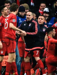 Bayern-seier sikret fire engelske plasser i Champions League