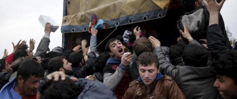 I dag skulle flyktningstr�mmen til Europa og Norge stoppes - men Hellas ber om mer tid