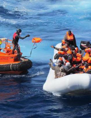 189 b�tflyktninger reddet av norsk redningssk�yte