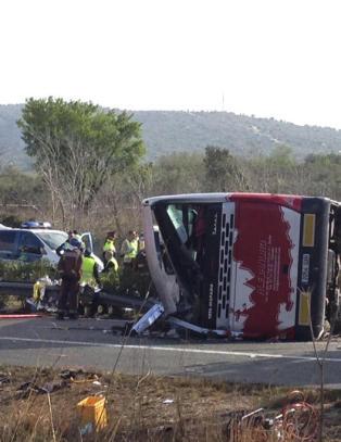 Minst 13 døde i bussulykke i Spania - flesteparten av passasjerene er utvekslingsstudenter
