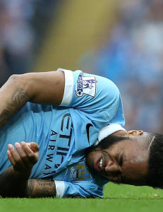 Skadesmell for City: Sterling kan v�re ute i �tte uker