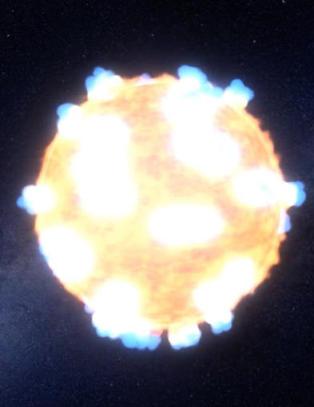 For f�rste gang: NASA fanget spektakul�r stjerneeksplosjon p� film