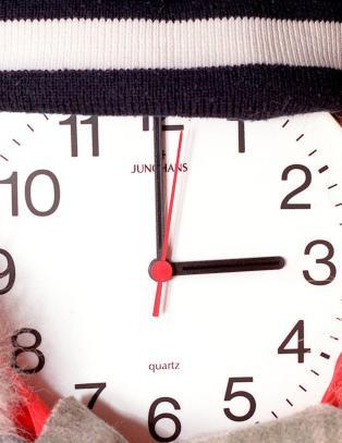 Enkel huskeregel gj�r at du alltid vil huske  hvilken vei klokka skal stilles
