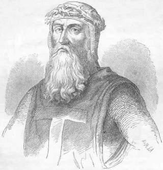 LEDET KORSTOGET MOT JERUSALEM: Gotfred av Bouillion og ble kongeriket Jerusalems f�rste hersker da de kristne tok byen i 1099. Han var en europeisk fyrste, og anseelsen hans �kte etter det vellykkede korstoget. Foto: WIKIMEDIA