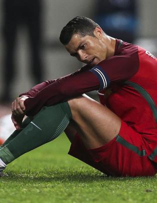 S� deppa ble Ronaldo da han brente sin tredje straffe p� en m�ned