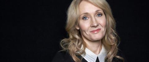 �Harry Potter�-forfatteren ble avvist etter millionsuksessen. N� inspirerer hun fansen