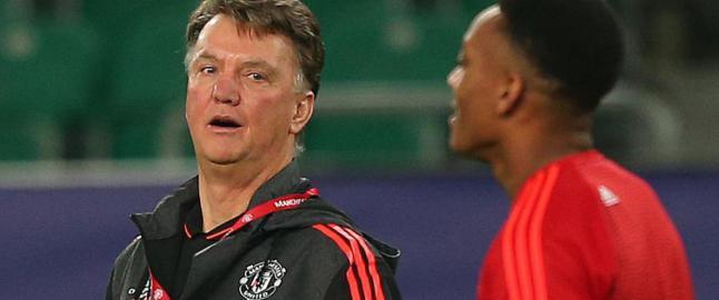 United-stjerna innr�mmer at han ofte f�r kjeft av van Gaal: - Det f�r meg til � le