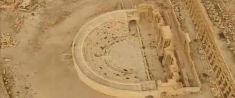 FN-ekspert tror ikke det er mulig � gjenreise tempel i Palmyra