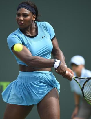Serena Williams ikke villig til � ta kritikk etter tidlig Miami-exit
