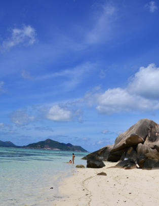 Seychellenes strender k�res til verdens vakreste i ett sett, og denne vil du garantert ta bilde av