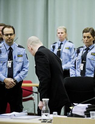 Breivik kan saks�ke staten p� nytt og p� nytt