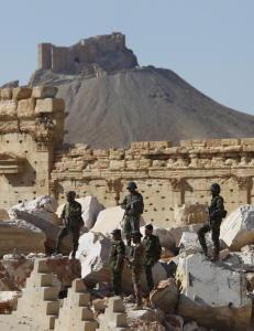 Massegrav med over 40 lik funnet i oldtidsbyen Palmyra