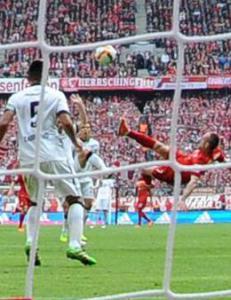 Bayern-seier etter spektakul�rt Ribery-m�l