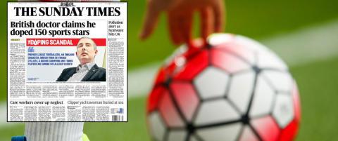 Ny gigantavsl�ring: Skal ha dopet Premier League-spillere fra Arsenal og Chelsea