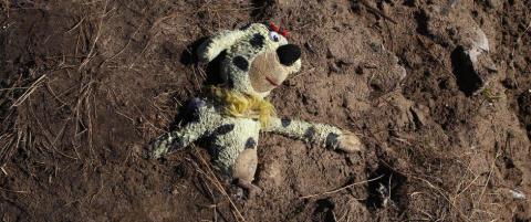 De jevnet �Jungelen� med jorda. N� er 129 barn sporl�st forsvunnet