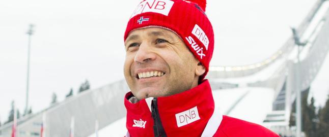 Ole Einar Bj�rndalen fortsetter som skiskytter - og venter barn