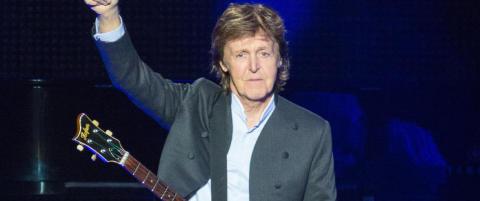 Paul McCartney til Bergen