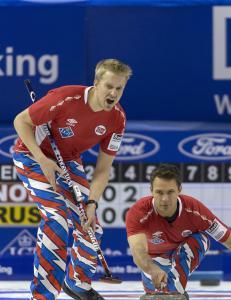 De norske curlinggutta skuffet mot USA i VM
