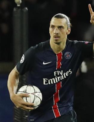 Komisk tabbem�l reddet Zlatan fra hjemmesmell