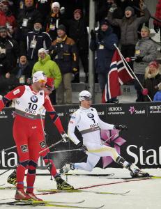 Jesper Modin gir seg med langrenn