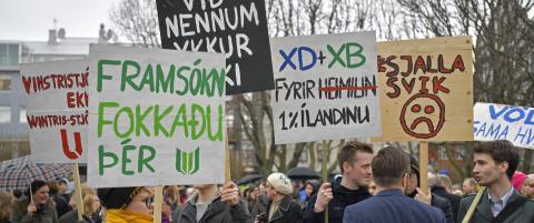 Islandske bankledere l�slates f�r tiden