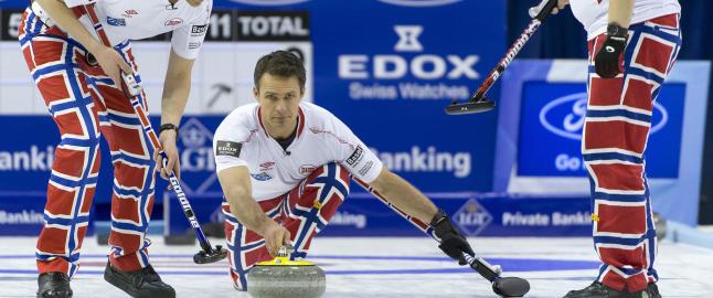 Curling-gutta slått ut av VM