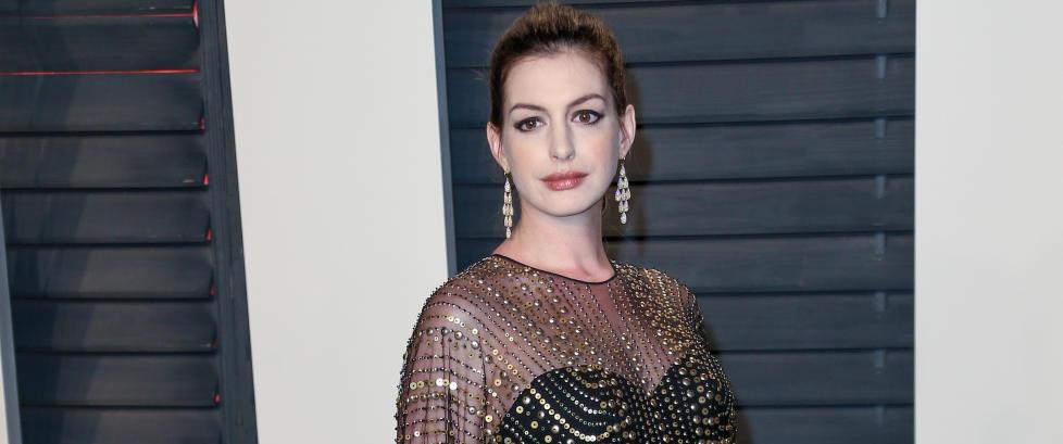 Anne Hathaway er blitt mor