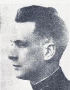 I 1939 foruts� han i detalj Hitlers angrep p� Norge - 9. april ble han skutt av tyskerne