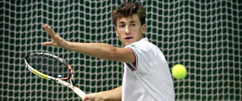 Ruud tapte finalen i junior masters