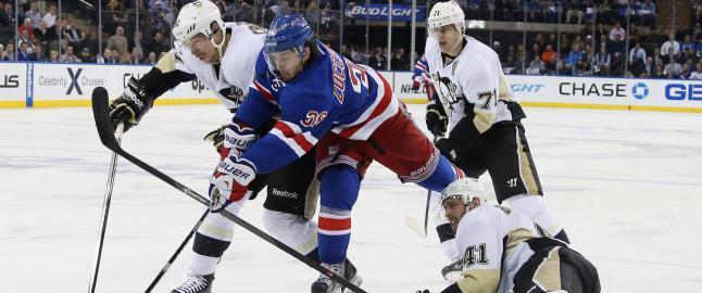 Zucca og Rangers m�ter Penguins i sluttspillet - igjen