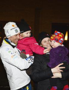 Sveriges skiheIt gj�r comeback - med familien i ryggen